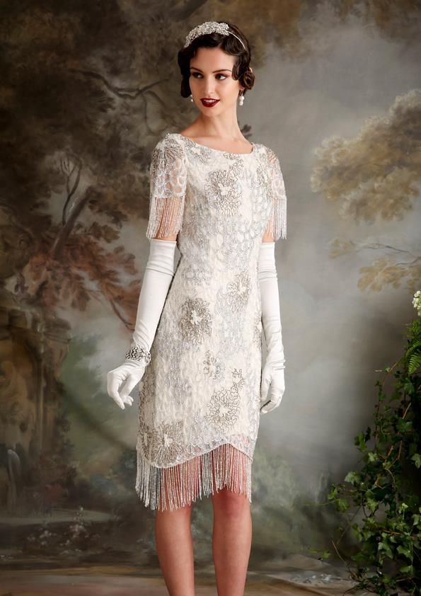 Vestidos de novia inspirados en los años 20 13