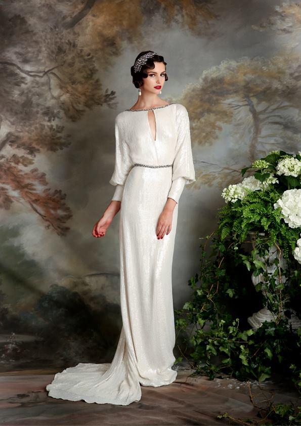Vestidos de novia inspirados en los años 20 15