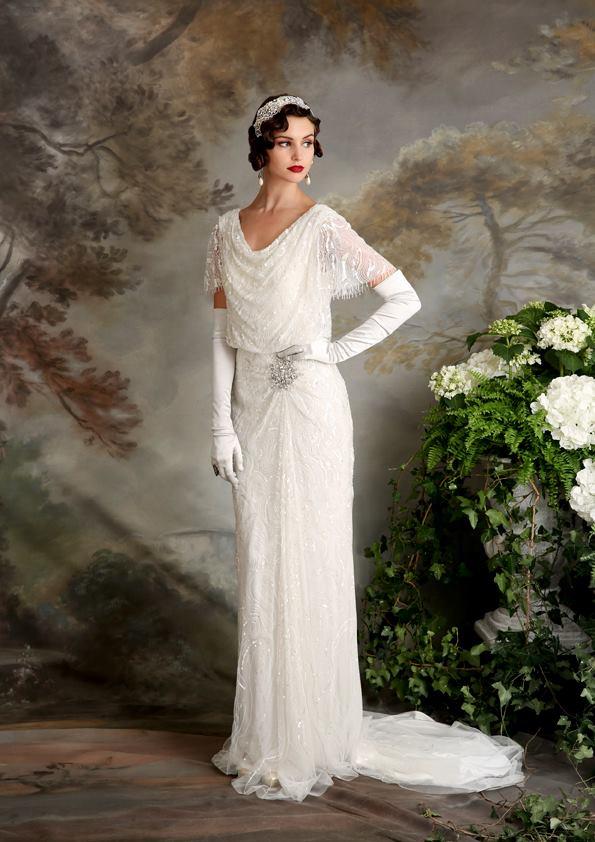Vestidos de novia inspirados en los años 20 2