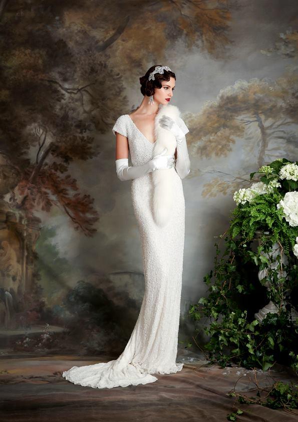 Vestidos de novia inspirados en los años 20 4