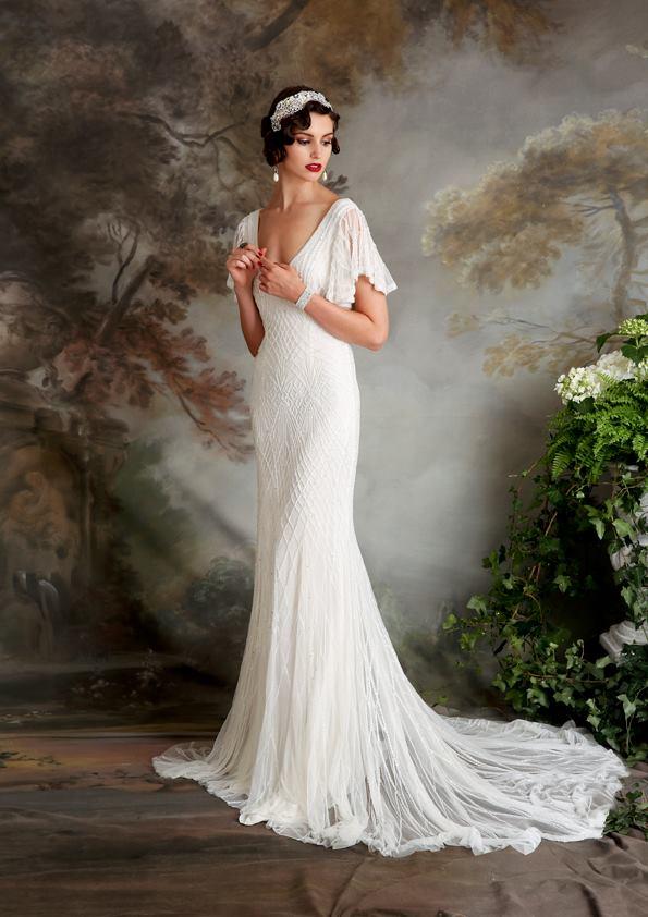 Vestidos de novia inspirados en los años 20 5