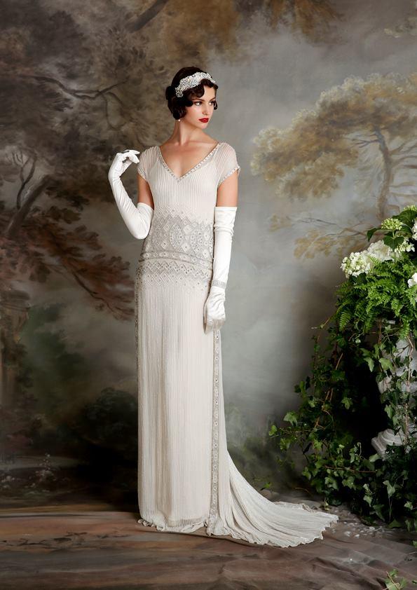 Vestidos de novia inspirados en los años 20 6