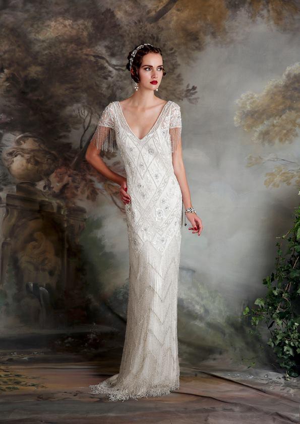 Vestidos de novia inspirados en los años 20 7