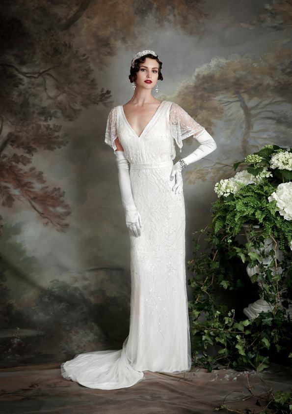 Vestidos de novia inspirados en los años 20 9