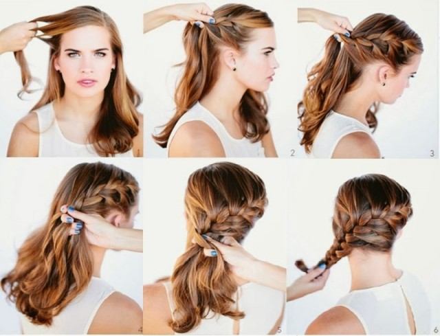 15 Quick And Easy 10 Minute Hairstyles