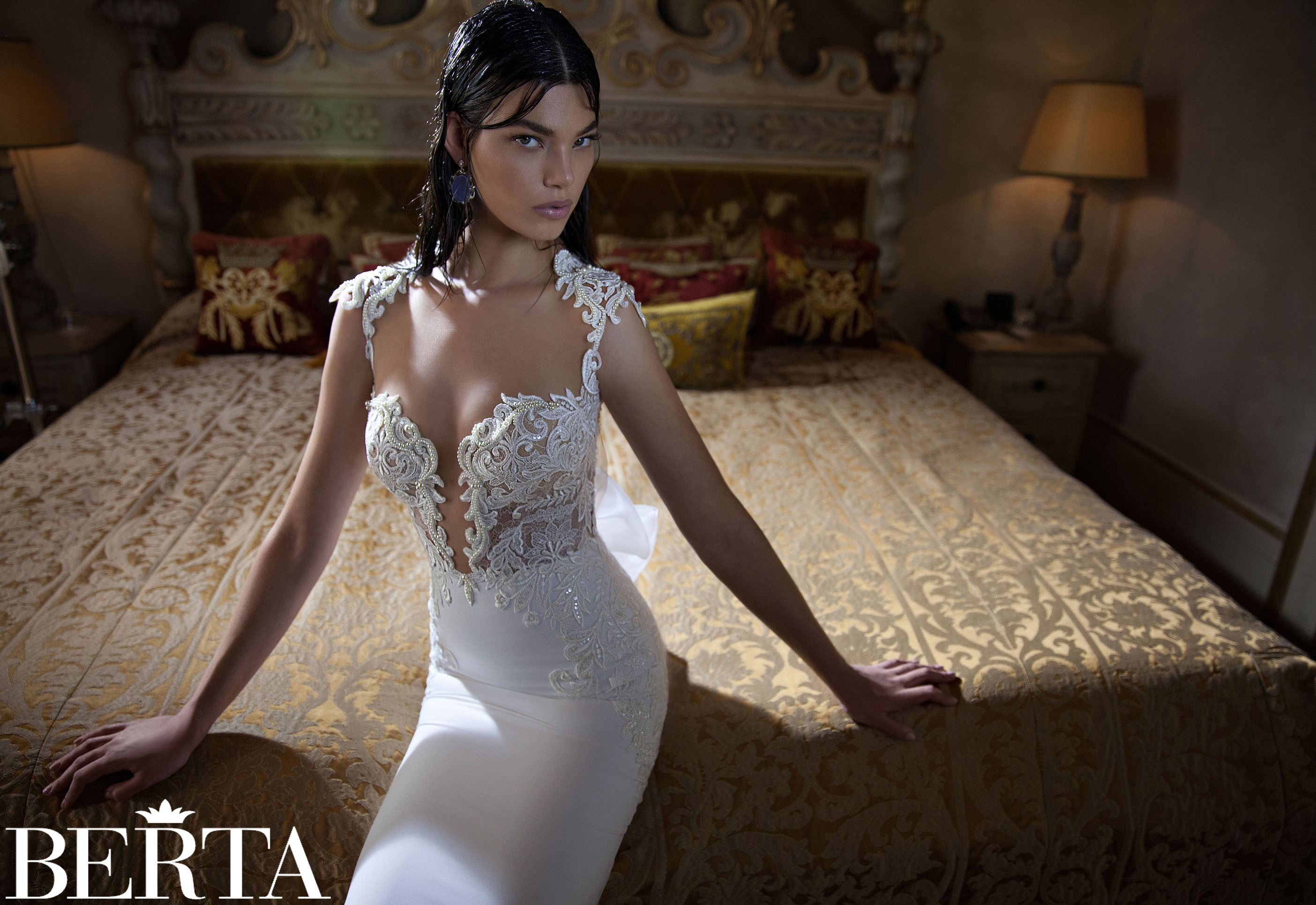 TIMELESS WEDDING DRESS SS 2015 COLLECTION BY BERTA BRIDAL