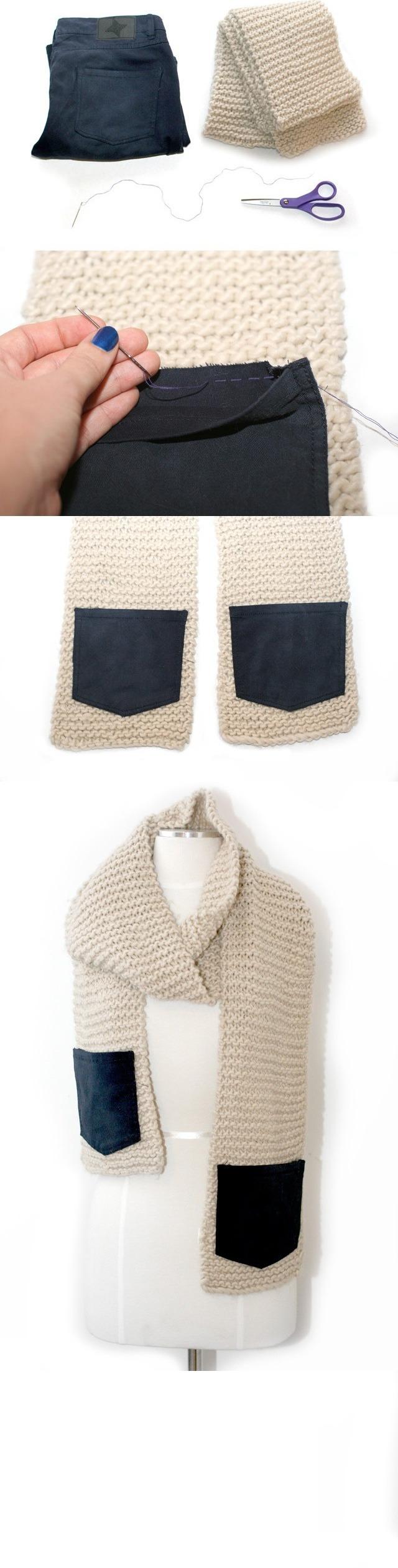 scarf-pocket