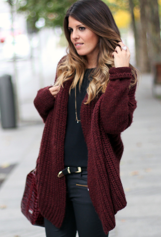 Lovely Winter Trend: Burgundy Fever