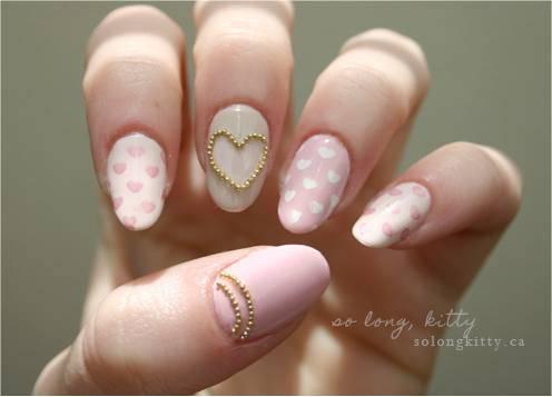 234623-nails-glam-pink-nails