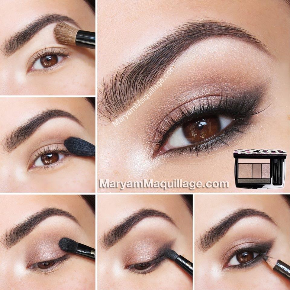 Красивый и простой макияж в домашних условиях