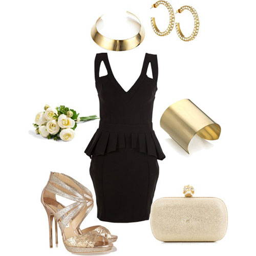 Amazing-Polyvore-Casual-New-Year-Party-Dresses-For-Girls-2013-2014-7
