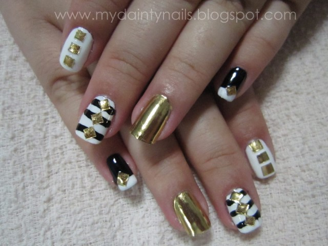 Black white gold 2
