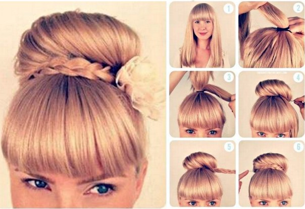Super 15 Cute Step By Step Hairstyles For Valentine39S Day Hairstyles For Women Draintrainus