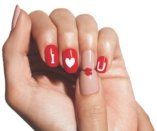 The Spirit Of Love Is Captured In 15 Nail Art Designs