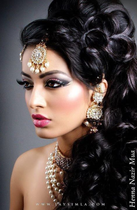 Latest-Pakistani-and-Indian-Bridal-Hairstyle-Trend-2014