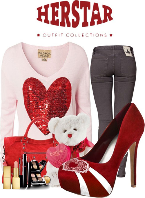 15 Outfits For Casual Valentine's Day