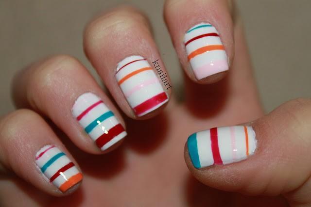 Spring-Striped-Nail-Art-Design-Ideas