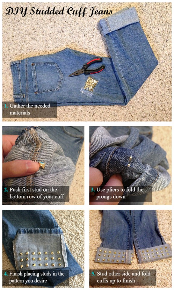 diy-studded-cuf-jeans