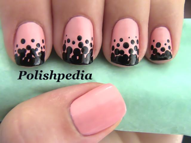 gradient-polka-dot-nails