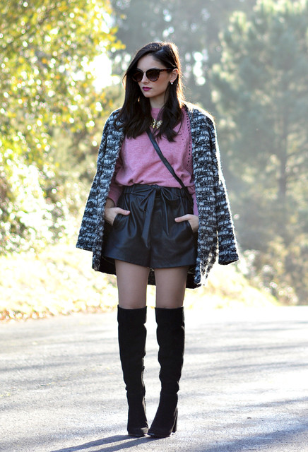 light-fuchsia-sweaters-black-shorts~look-main-single
