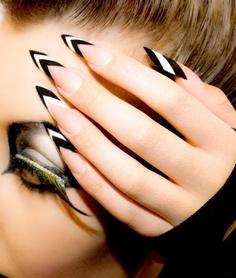 punk-stiletto-nails-design