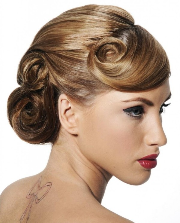 bridal wedding hairstyles 2012