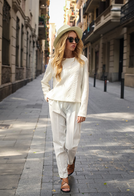 Spring Fashion Trend: Head-to-Toe White