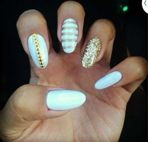 16 Marvelous Wedding Nail Ideas