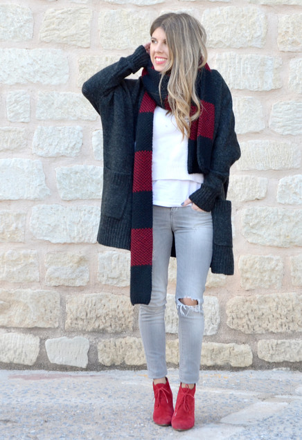 zara-dark-gray-bershka-cardigans~look-main-single