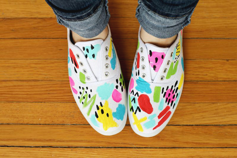 20 DIY Sneakers To Rock This Spring