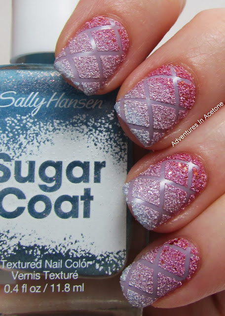 Criss Cross Textured Nails 1