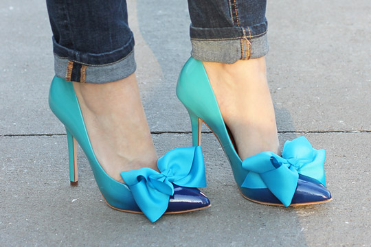 Fancy DIY Shoes With Bows To Create Right Now