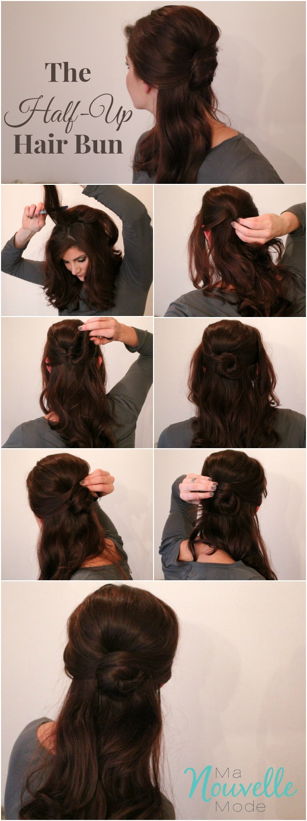 Half-Up-hair-bun