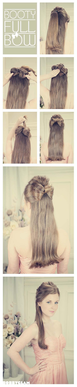 Half-up-half-down-hairstyle-tutorials-9