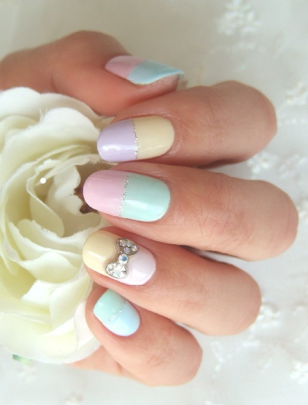 LadyLUX Beauty Spring Nails Pastel