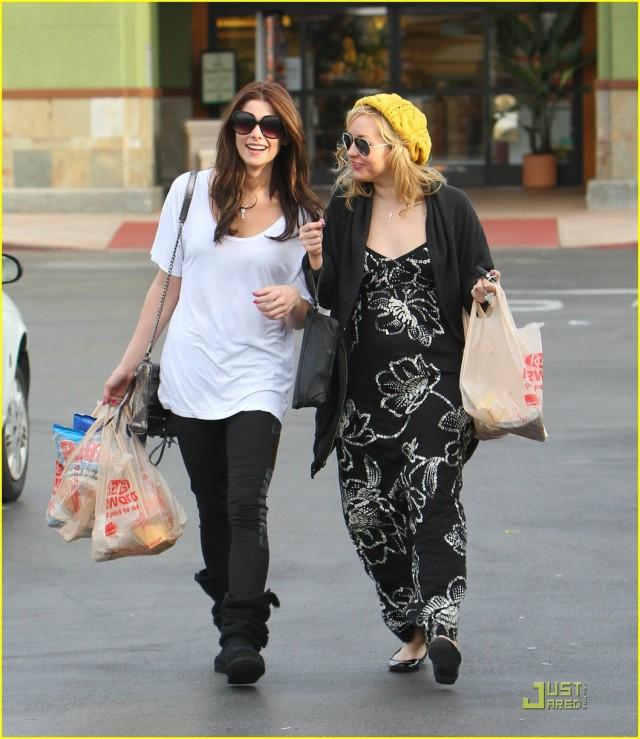Ashley Greene Goes Food Shopping