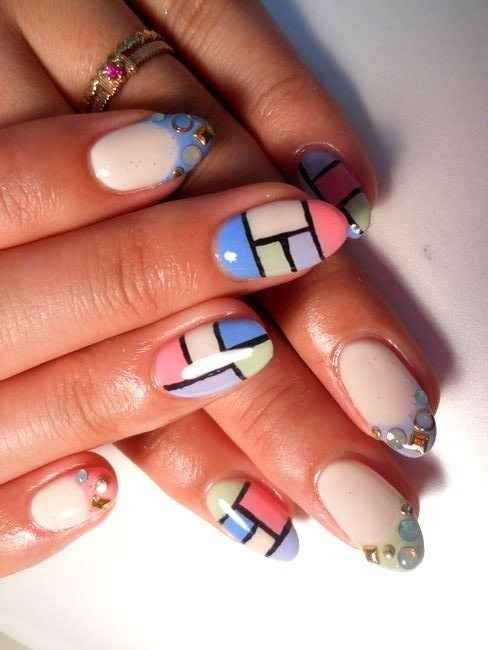 color_block_nail_art