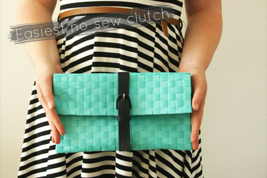 15 Easy and Quick To Make DIY Clutch Ideas