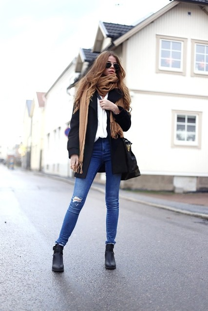 15 Chic Outfits With Skinny Jeans That You Have To See