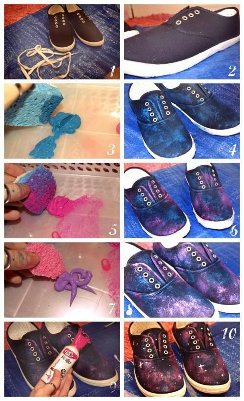 galaxy-sneakers-diy