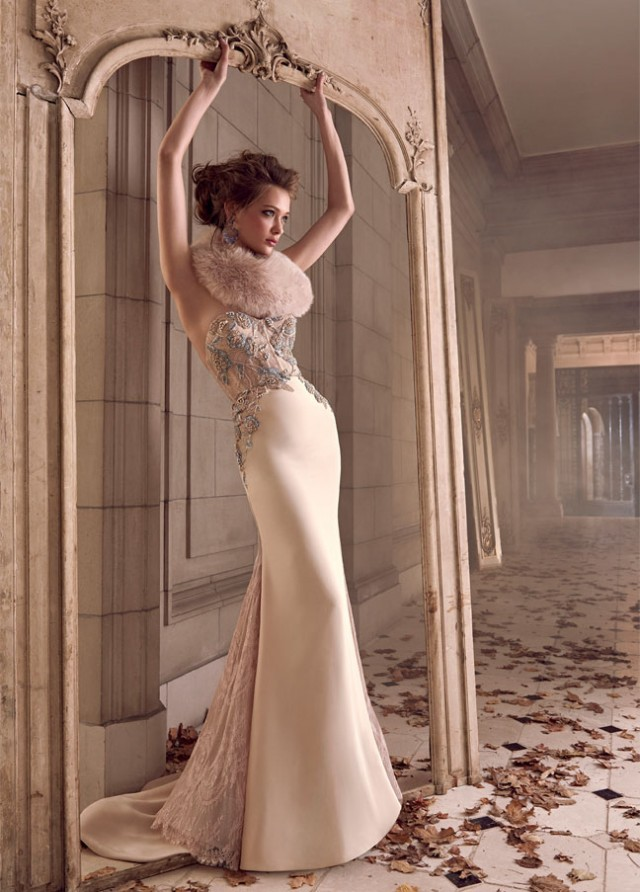 lazaro-bridal-silk-trumpet-sheer-corseted-chantilly-lace-floral-strapless-sweetheart-fitted-godets-chapel-3506_zm