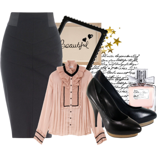 Fancy Polyvore Combinations With Skirts For Every Occasion