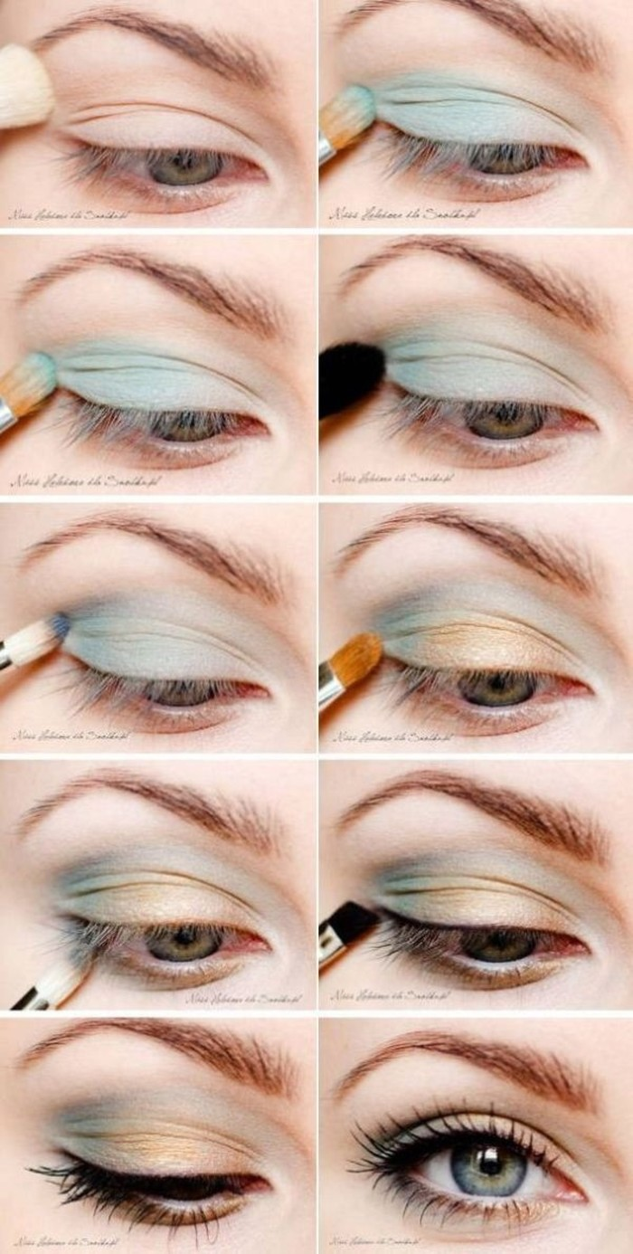 16 AMAZING SEAFOAM GREEN MAKEUP IDEAS