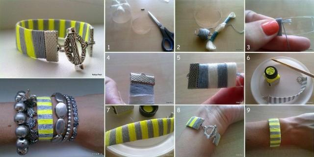 DIY-Plastic-Bottle-Neon-Bracelet