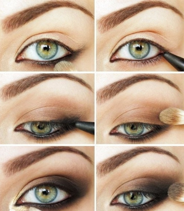 Smokey-Eye-Makeup-for-Brown-Eyes-Steps
