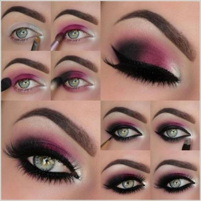 Smokey-Eye-Makeup-with-Best-Easy-Steps-2014-15-3