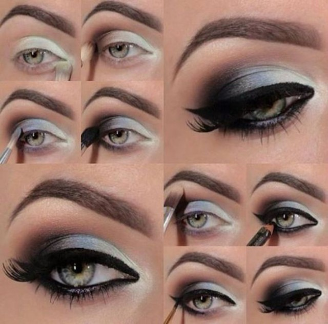 Smokey-Eye-Makeup-with-Best-Easy-Steps-2014-15-8