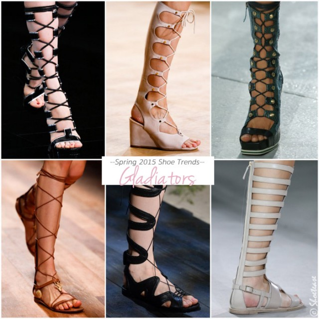 Spring-2015-Shoe-Trends-Gladiators