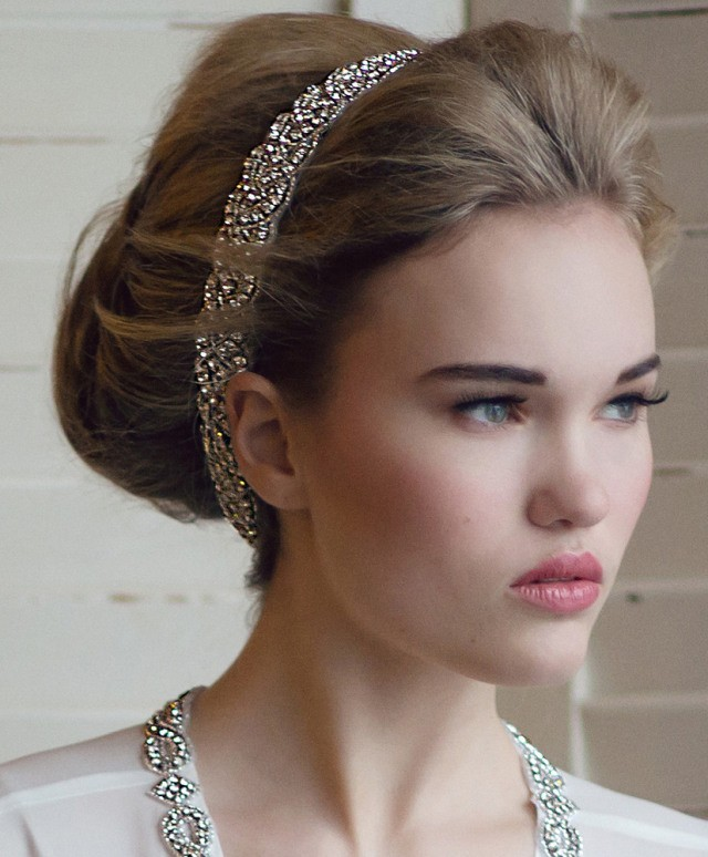 Wedding Hairstyle With Headband: 19 Fabulous Bridal Hairstyles With Veils And Hairpieces