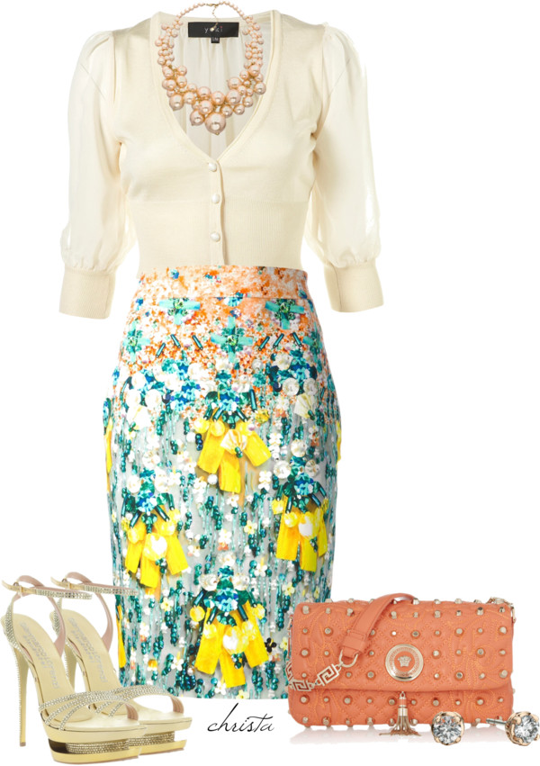 cream-and-print-pencil-skirt-for-your-easter